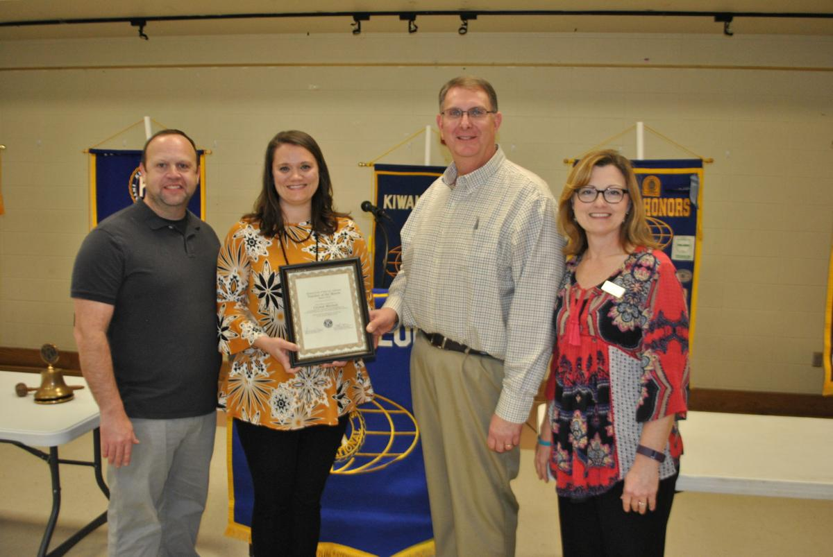 Crystal Mitchell named Pell City Kiwanis Teacher of Month
