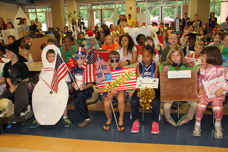 Vocabulary Parade at Kitty Stone Elementary School