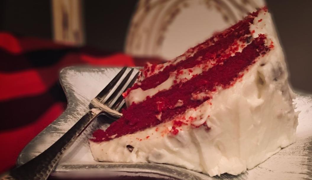 Greg Morgan red velvet cake