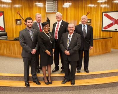 Sylacauga's city administration