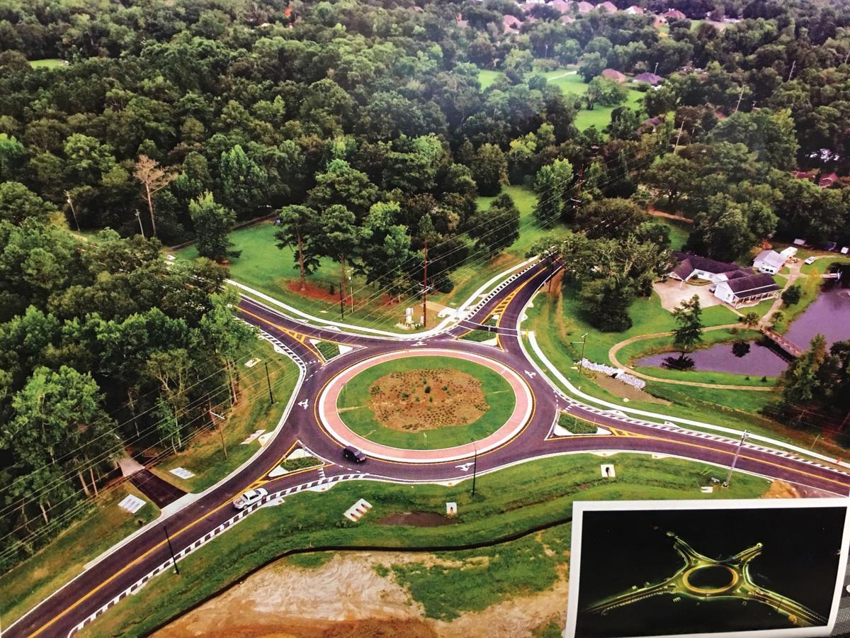 Fairhope roundabout