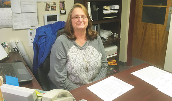 Former switchboard operator works at church
