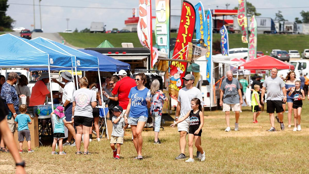 It's early. It's August. But the Cleburne County Fair still draws big crowd