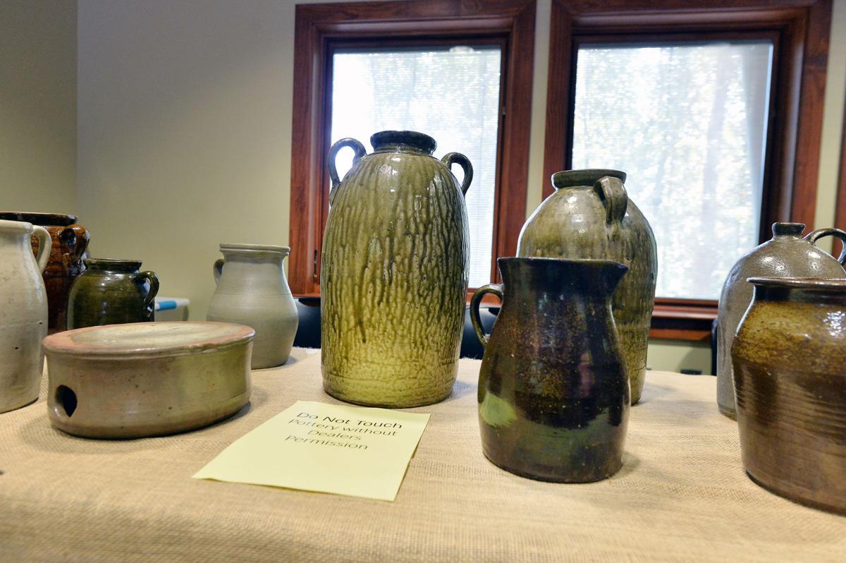 Cleburne Folk Pottery Show BW 07.JPG
