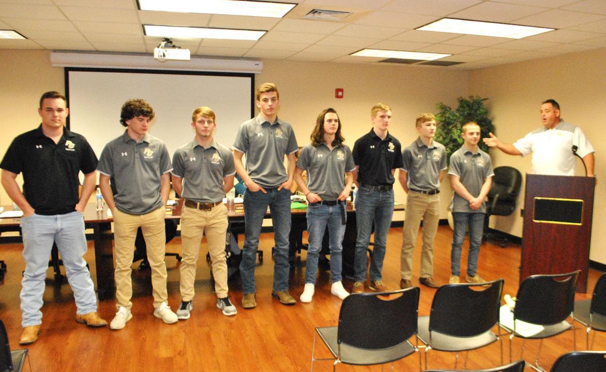 Pell City school board recognizes wrestlers, robotics team members