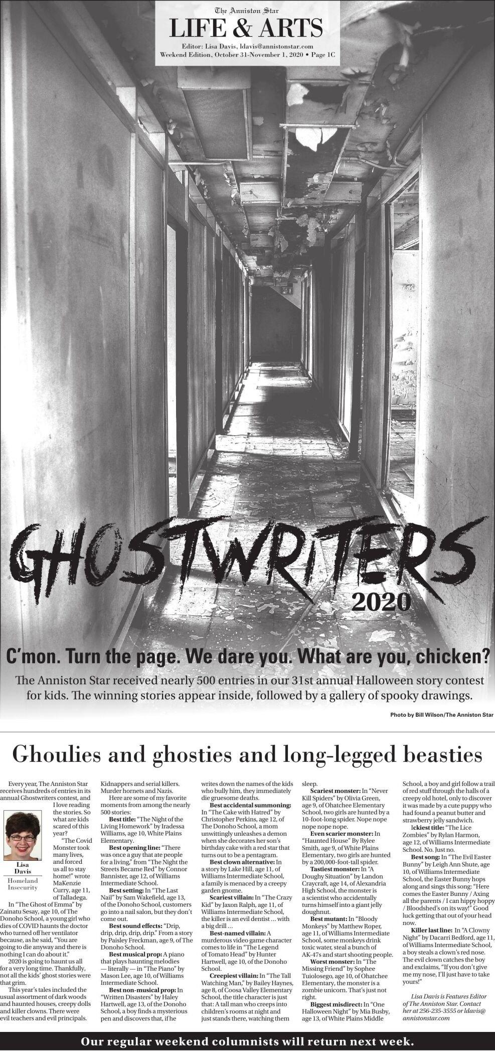 Ghostwriters 2020