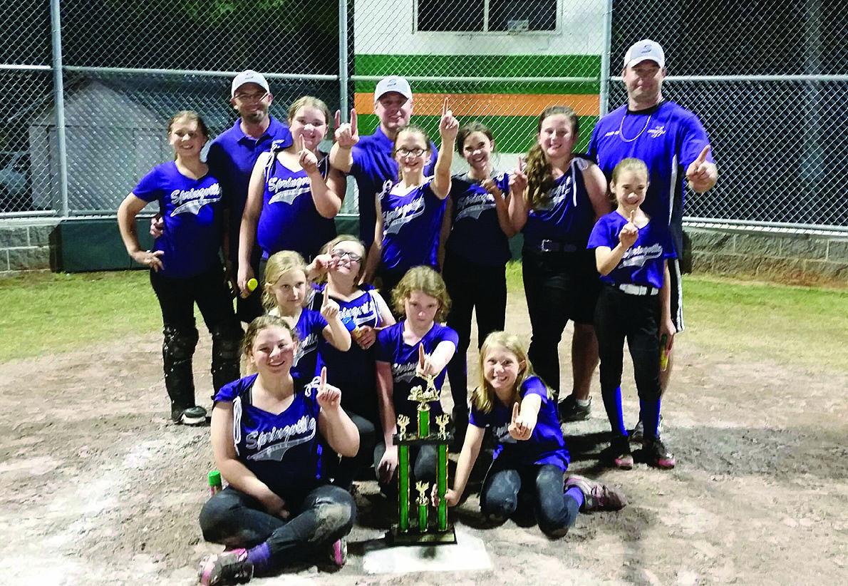 Springville wins youth softball tournaments | School Days