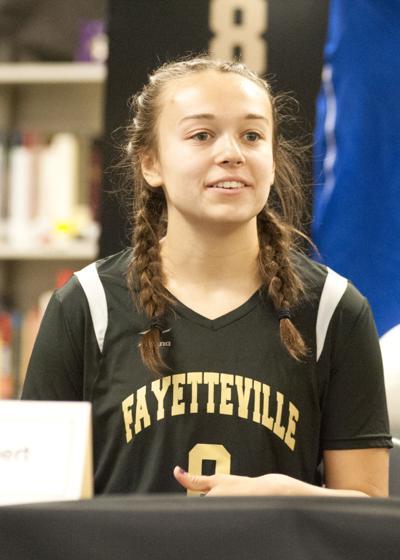 Fayetteville's Sarah Grace Sherbert