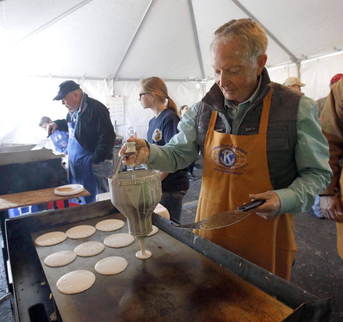 Annual Kiwanis Pancake Breakfast Still Packing Them In