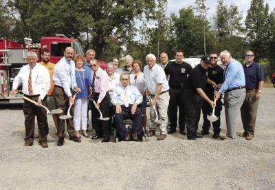 Groundbreaking ceremony held for Wattsville Fire Department Station #2