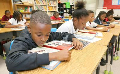 Randolph Park Elementary School reading