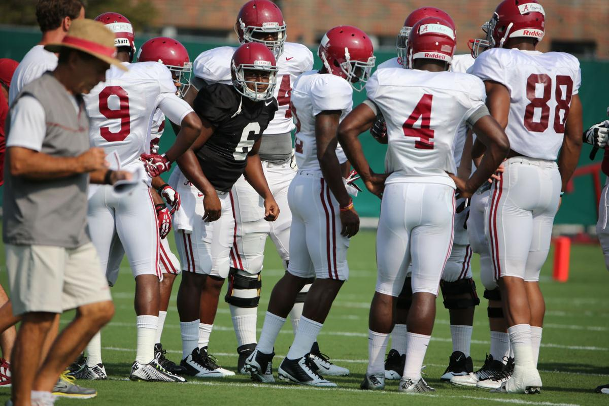 Blake Sims working with first-team offense