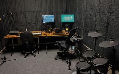 Anniston public library recording studio