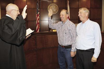 Joe Sweatt sworn in as new St. Clair County deputy coroner
