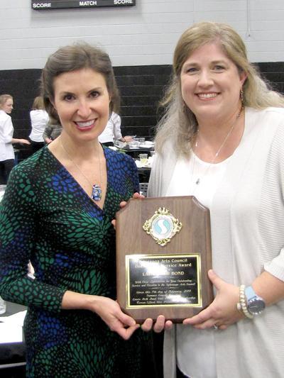 Laura Beth Bond honored by Sylacauga Arts Council