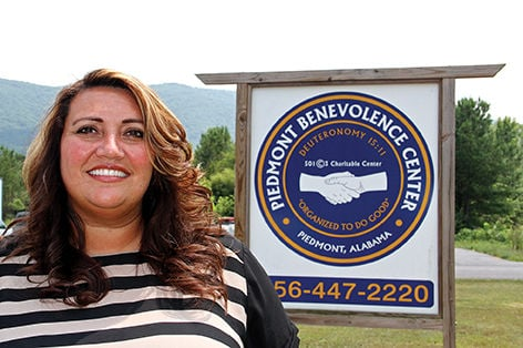 Stephanie Curvin directs business at Benevolence Center
