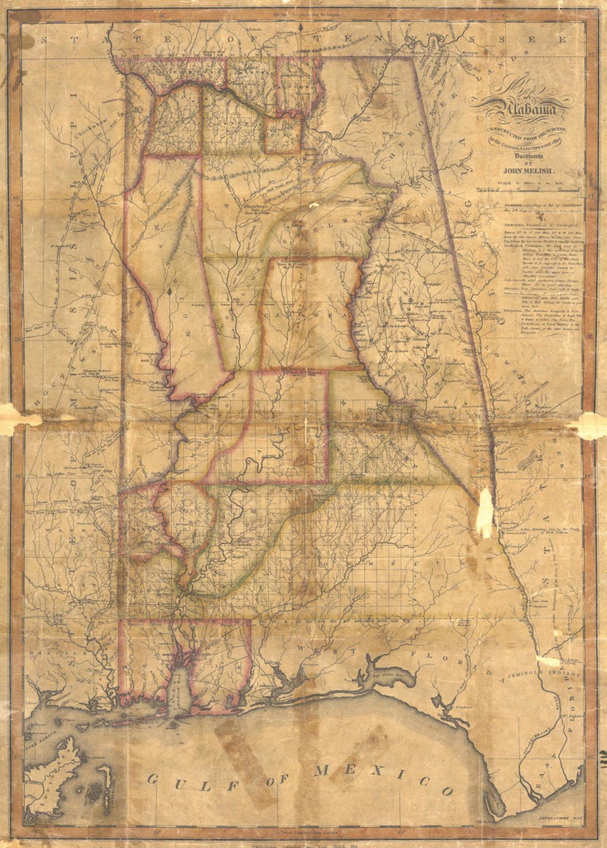 1818 map