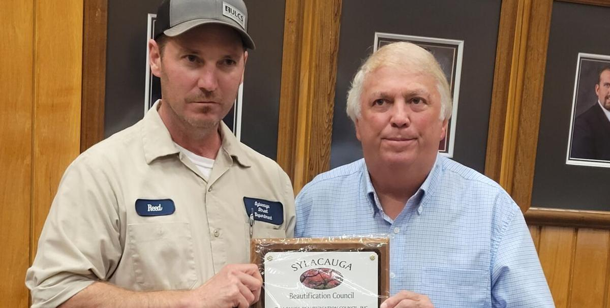 Sylacauga Beautification Council honors trio of local citizens at council meeting