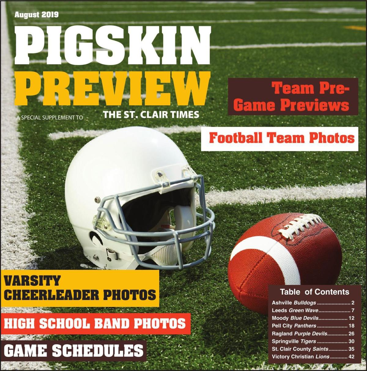 2019 Pigskin Preview