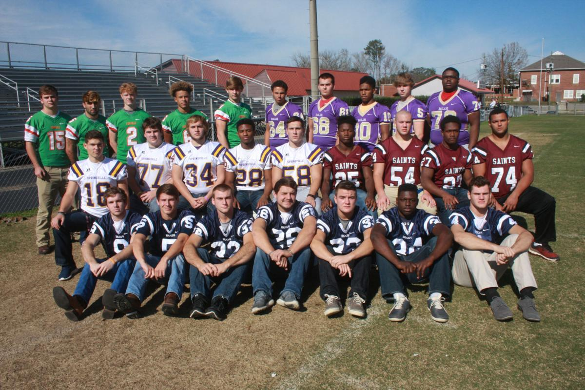 Alabama saint clair county odenville - Members Of The 2015 All County Football Team