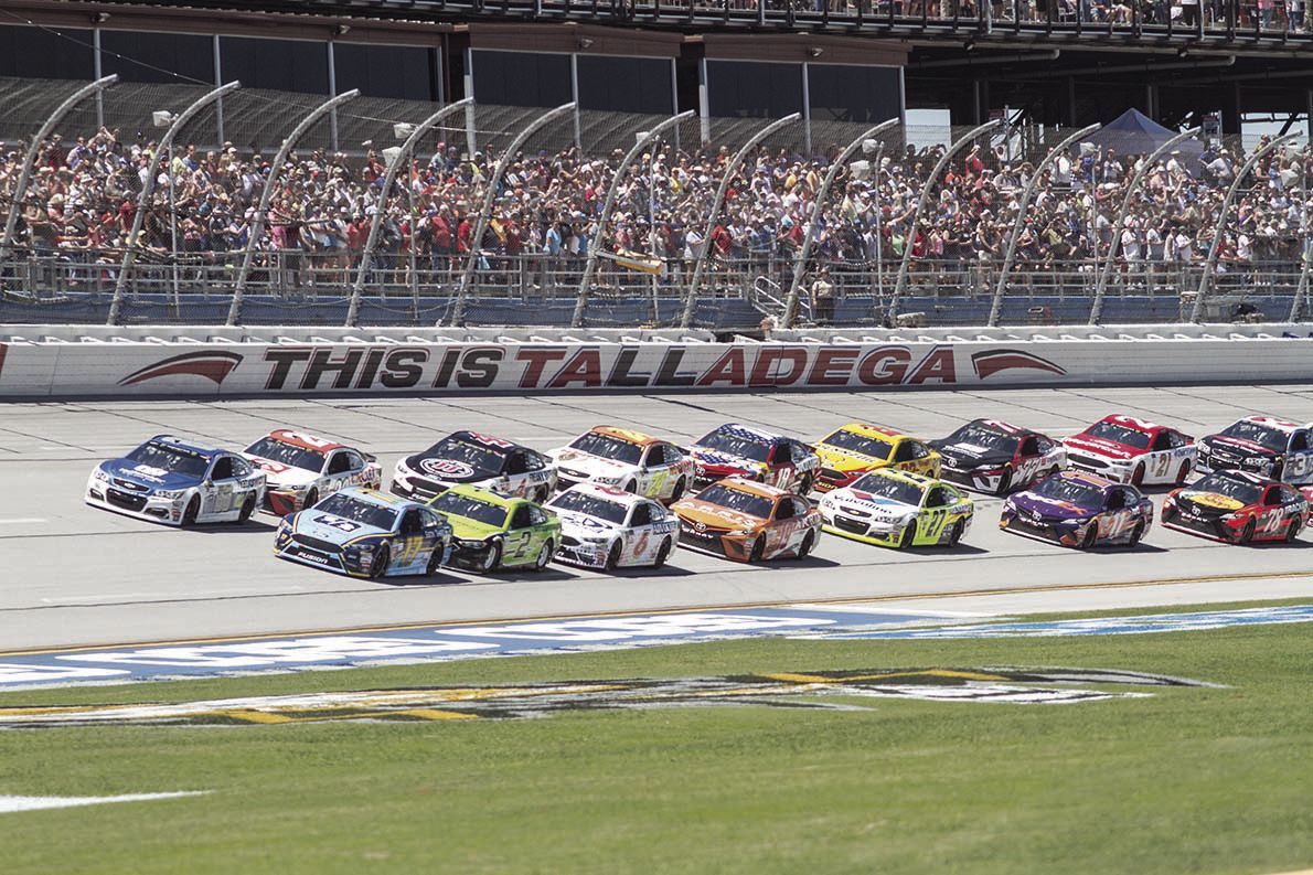 Spring 2017 Monster Energy race at Talladega Superspeedway