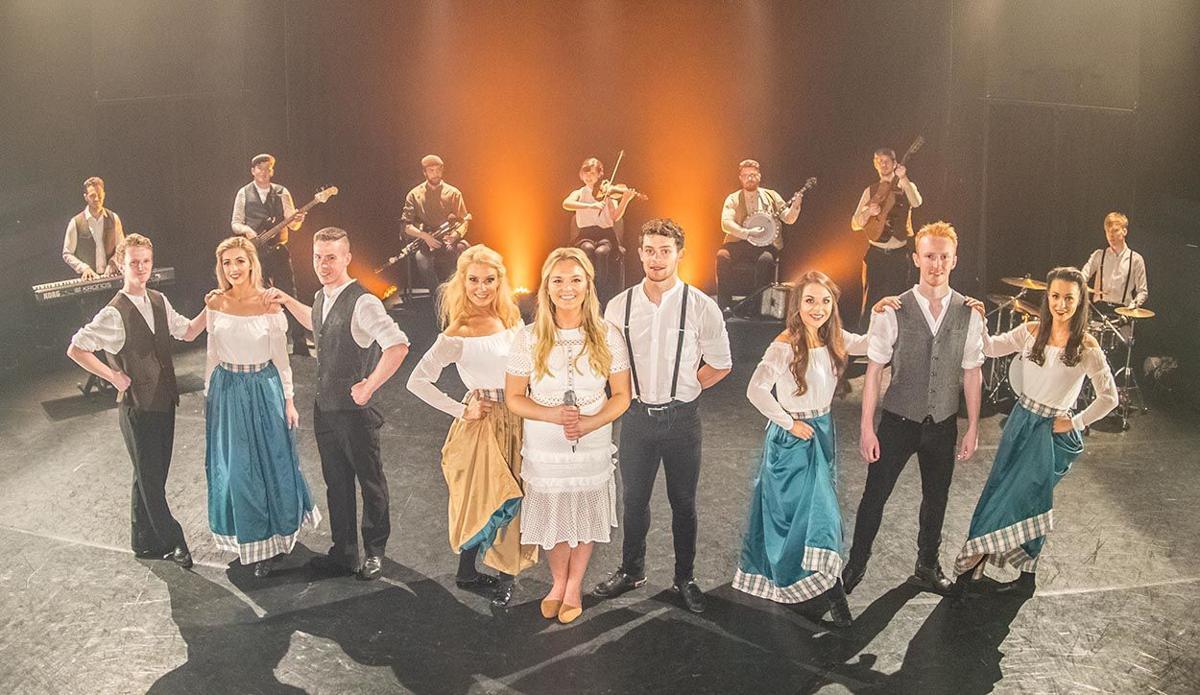 The Dublin Irish Dance troupe