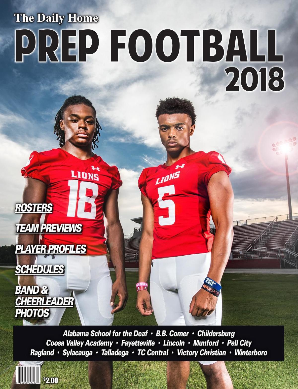 Prep Football Magazine 2018
