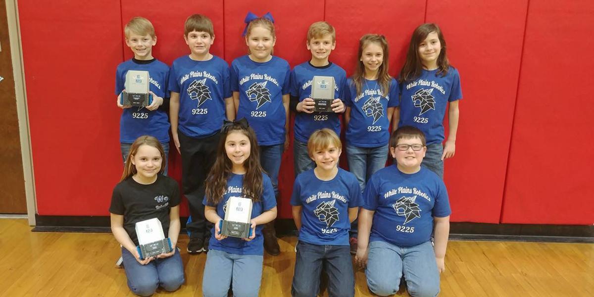 Congrats ... White Plains Elementary Vex IQ robotics team