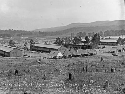 Camp McClellan in September 1917