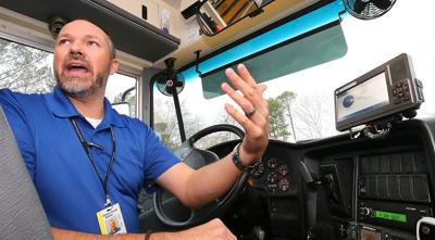 Calhoun County buses get GPS tracking devices, software
