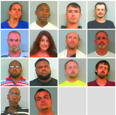 14 arrested on felony drug charges in Talladega Co  during