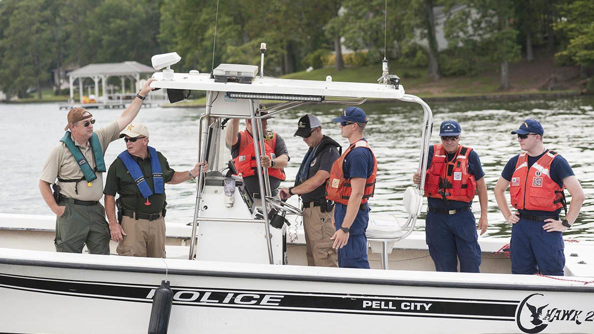 Coast Guard Auxiliary training on Logan Martin (photo gallery)