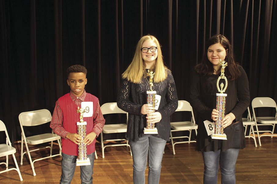 St. Clair County Spelling Bee Top 3