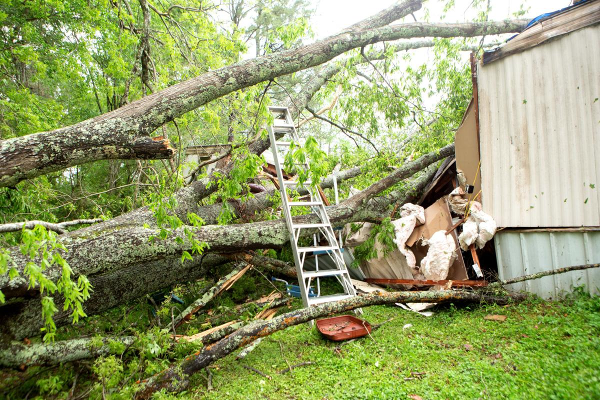 St. Clair County woman killed after tree falls on home during storm