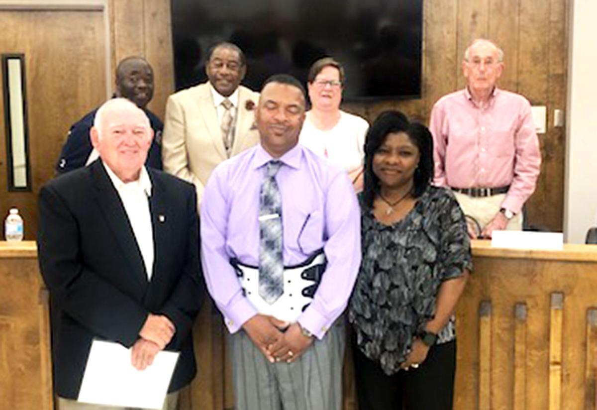 Victor Wilson Sr. takes oath for Talladega Civil Service Board