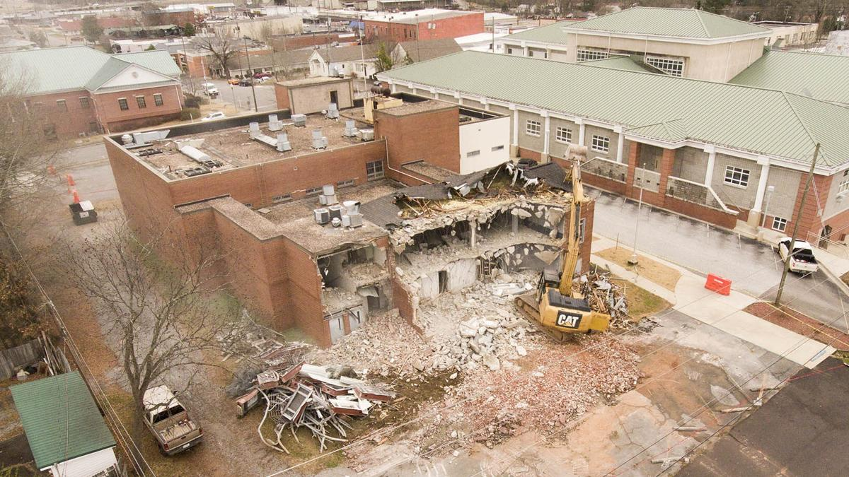(PHOTOS + VIDEO) St. Clair County Jail Demolition