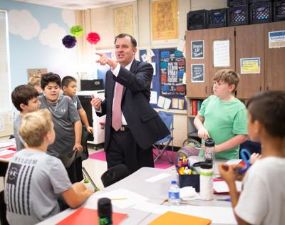 """Dr. James """"Jimmy"""" Martin III completes 1st week as Pell City superintendent"""