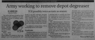 TCE depot