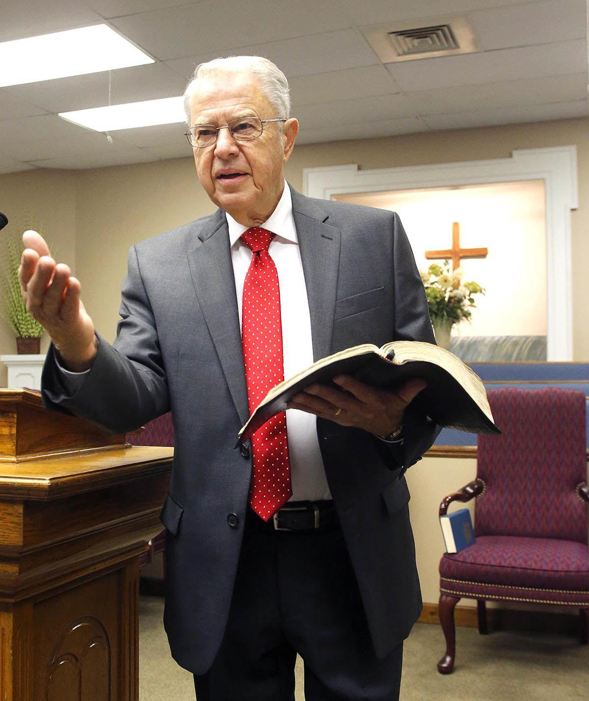 Pastor C.O. Grinstead