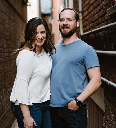 Brenna Kaminski and Joshua Pritt