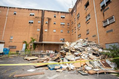 Workers start removing hazardous materials from former St. Clair Hospital
