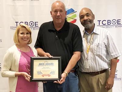 Talladega County BOE honors Greg Landers
