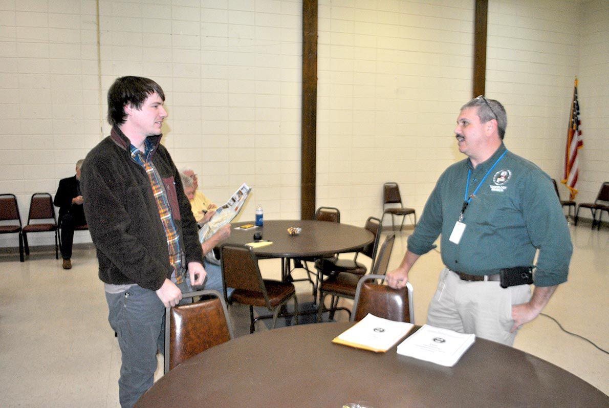 Dr. John Guarisco speaks to Logan Martin Lake Protection Association