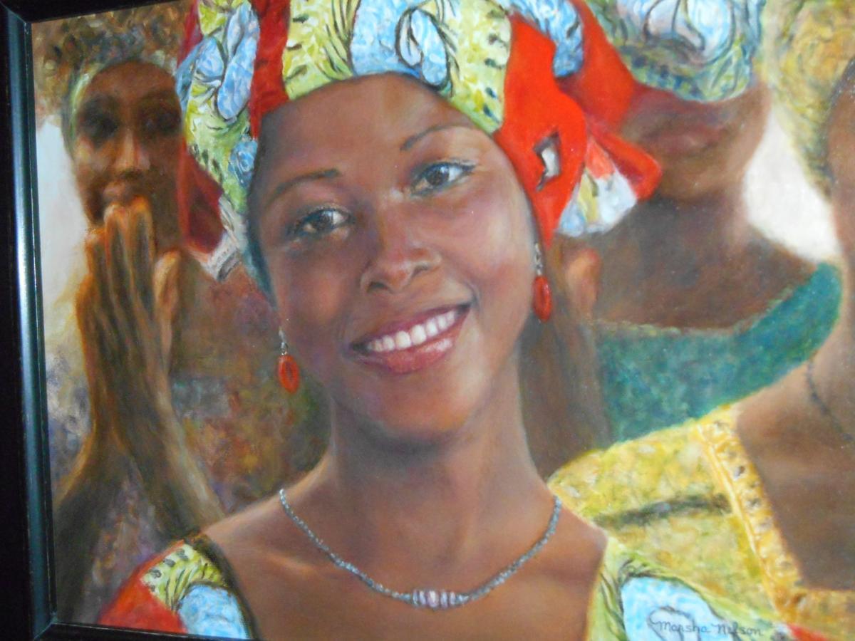'Life Restored' painting