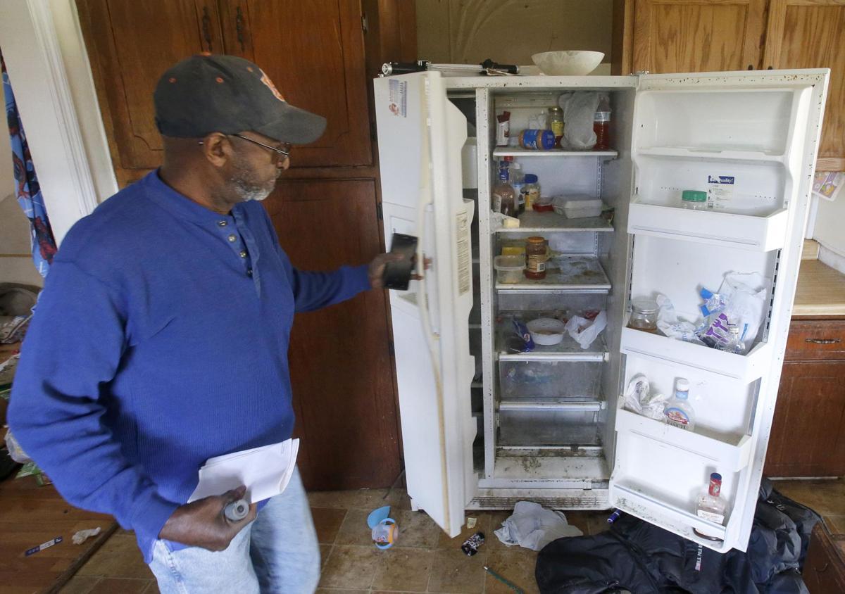 Landlord upset with property damage