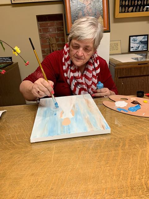 Artist Cheryl Eyster