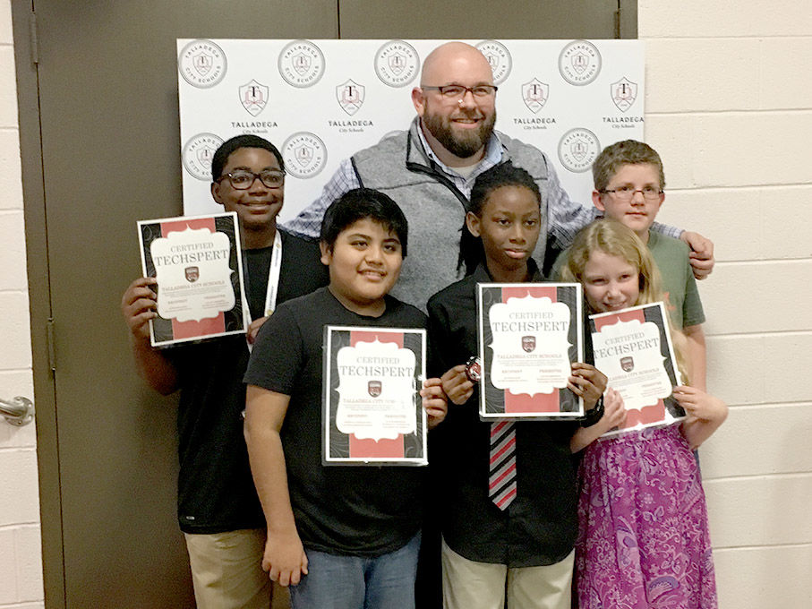 Students recognized as Techsperts