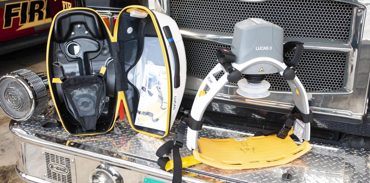 Pell City Fire Department puts new chest compression machines into use