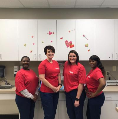 MainStreet Family Urgent Care goes red to celebrate American Heart Month
