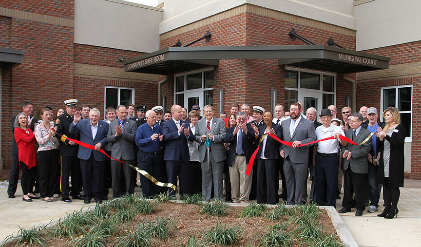 Public Safety Complex Ribbon Cutting